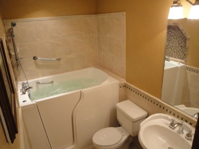 Independent Home Products, LLC installs hydrotherapy walk in tubs in Brunswick